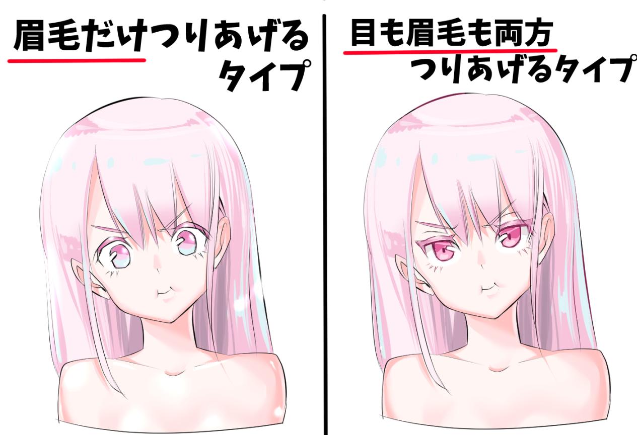 女の子のイラスト 眼の描き方 模写の上達