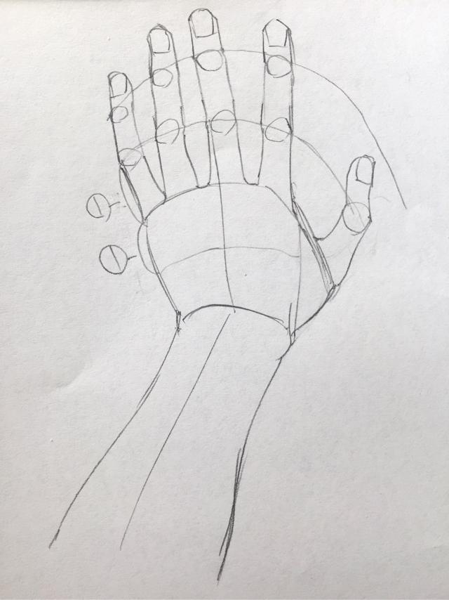 手の描き方 上達の練習法 アナログ漫画