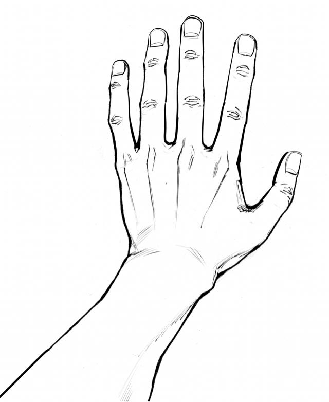 手の描き方 イラストのコツ 練習法