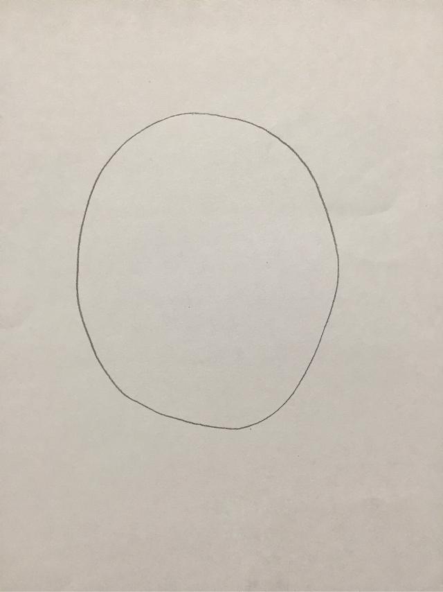 イラストの描き方 顔の練習を描く