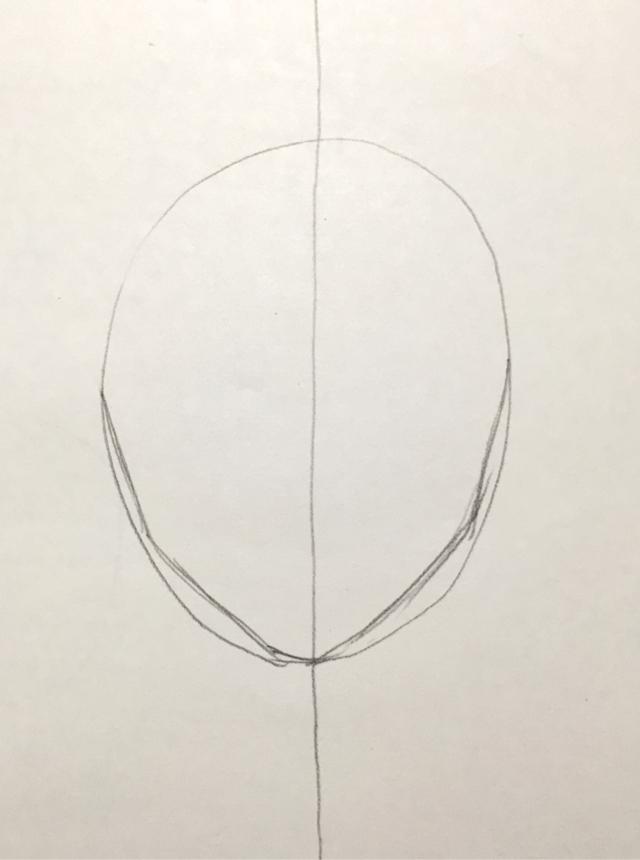 顔の描き方 イラスト初心者の練習