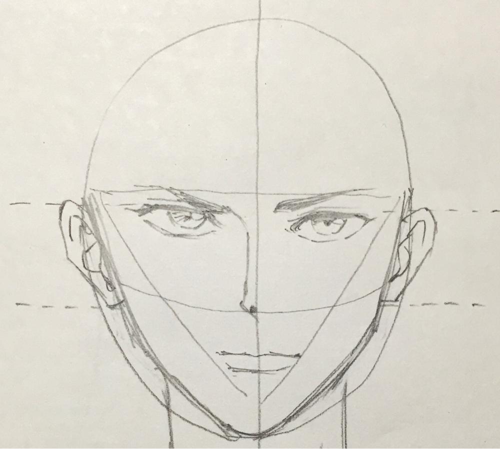 顔の描き方 イラスト初心者 絵の書き方