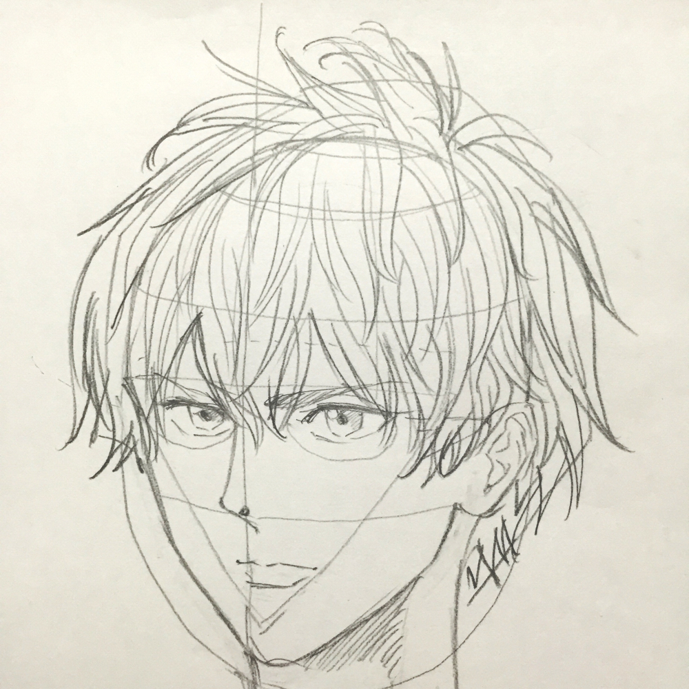 顔の書き方 絵の初心者 人の描き方