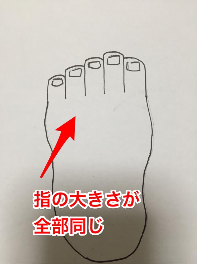 足の描き方 絵のデッサン