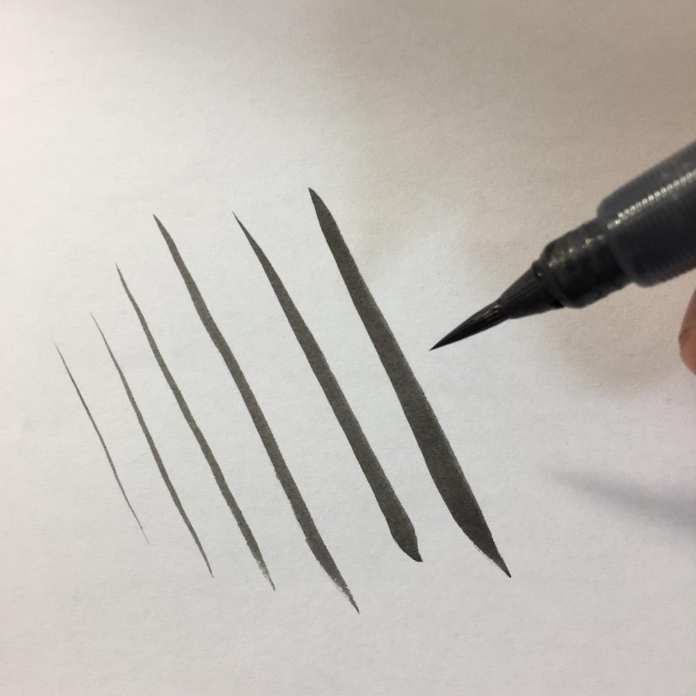 筆ペン 漫画の描き方