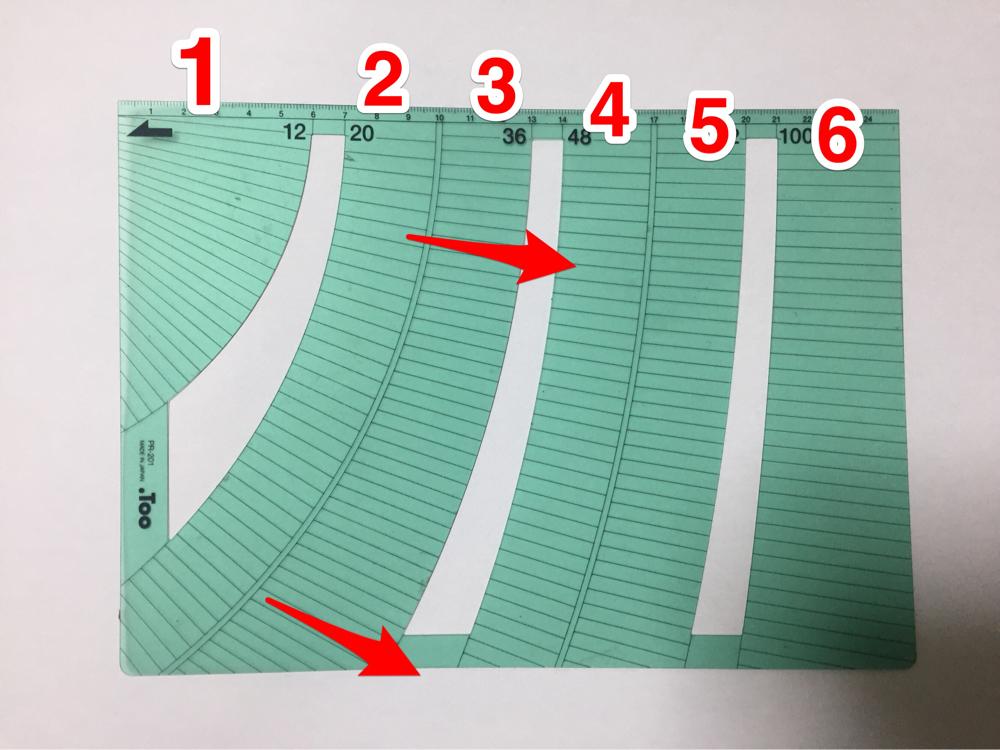 漫画の道具 パース定規 描き方